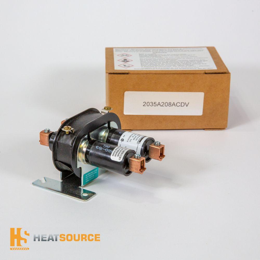 Heatsource inc Durakool Mercury Relay 2035A208ACDV